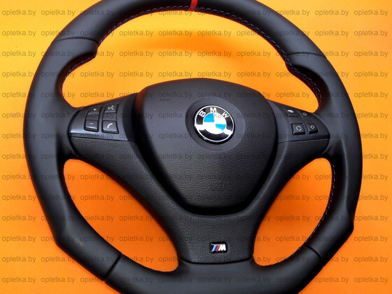 BMW_E71_Hamann_Steering-wheel_Nappa+Strip_red_flat_bottom (1)